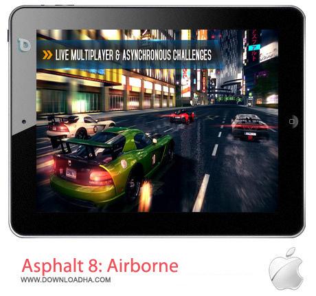Asphalt%208%20Airborne%202.1.3 بازی ماشین سواری Asphalt 8: Airborne 2.1.3 مخصوص آیفون ، آیپد و آیپاد