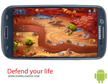 Defend your life v1.0077 بازی استراتژیک Defend your life v1.0077 مخصوص اندروید
