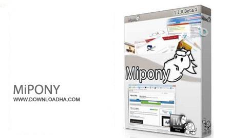 MiPONY%202.3.1 نرم افزار دانلود از سایت های اشتراک گذاری فایل MiPONY 2.3.1