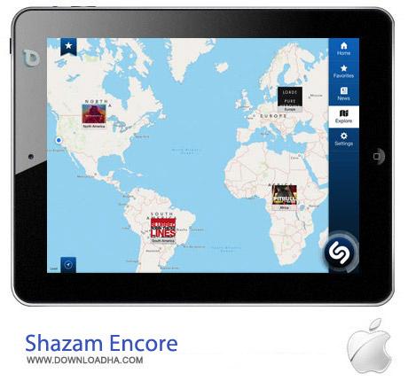 Shazam%20Encore%209.0.1 نرم افزار یافتن موزیک Shazam Encore 9.0.1 مخصوص آیفون ، آیپد و آیپاد