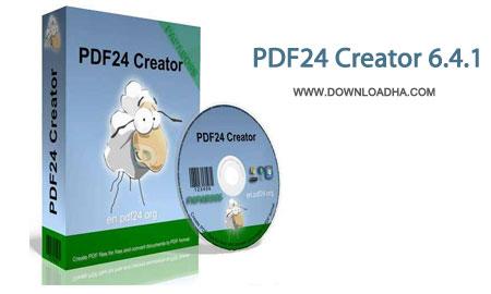 ایجاد فایل های پی دی اف با PDF24 Creator 6.4.1