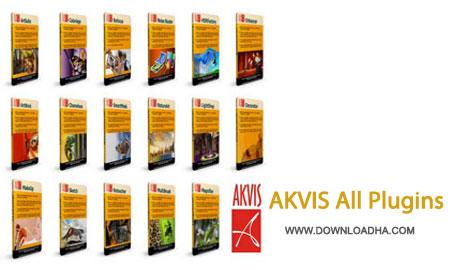 AKVIS.All.Plugins.Cover مجموعه کامل پلاگین های گرافیکی آکویس AKVIS All Plugins 24.06.2014