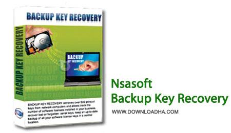 Backup.Key.Recovery.Cover تهیه پشتیبان از پسورد نرم افزارها با Nsasoft Backup Key Recovery 2.1.1