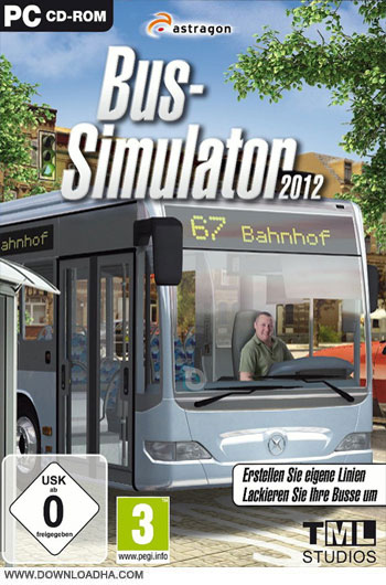 Bus.Simulator.2012.Cover دانلود بازی European Bus Simulator 2012 برای PC