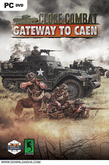 Close.Combat.Gateway.to.Caen.Cover دانلود بازی Close Combat Gateway to Caen برای PC