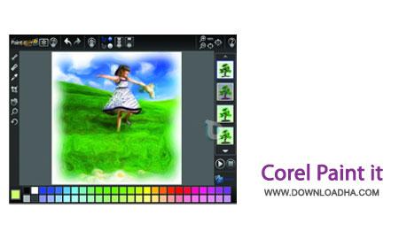 Corel.Paint.It.Cover نقاشی حرفه ای و آسان با رایانه توسط Corel Paint it! 1.0.0.127