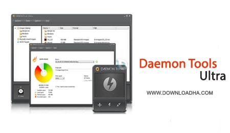 DaemonTools.Ultra.Cover  ایمیج گیری و ساخت درایو مجازی با DAEMON Tools Ultra 3.0.0.0310