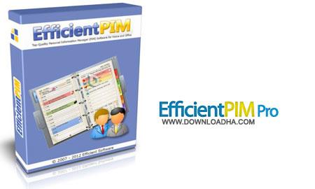 EfficientPIM.Cover مدیریت کارهای روزانه EfficientPIM Pro 3.70 Build 367