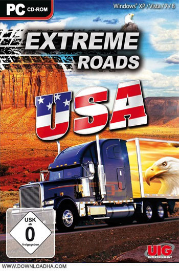 Extreme.Roads.USA.Cover دانلود بازي Extreme Roads USA براي PC
