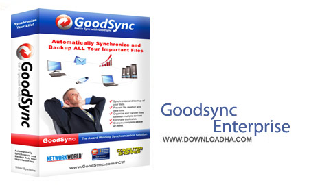 Goodsync.Enterprise.Cover پشتیبان گیری فایل ها با GoodSync Enterprise 9.9.3.3 Multilingual
