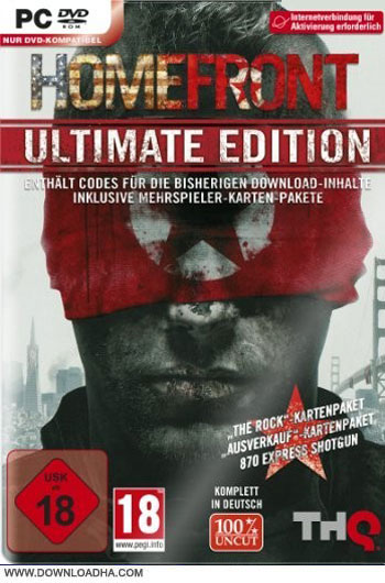 Home.Front.Ultimate.Edition.Cover دانلود بازي Homefront Ultimate Edition براي PC