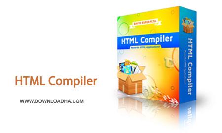 Html.Complier.Cover اجرا صفحات اچ تی ام ال در ویندوز با نرم افزار HTML Compiler 1.8