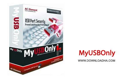MyUSBOnly.Cover قفل کردن و محافظت از پورت های USB با MyUSBOnly 9.7.0