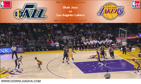 NBA.2014.10.19.Jazz.Lakers.Cover دانلود مسابقات ان بی ای   NBA 2014.10.19 Utah Jazz Vs Los Angeles Lakers