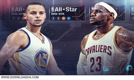 NBA.Allstar.2015.Cover دانلود مسابقات آخر هفته ستارگان بسکتبال حرفه ای NBA AllStar 2015 Ballot