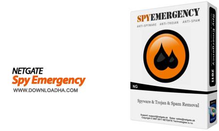 NETGATE.Spy.Emergency.Cover حذف و مقابله با جاسوس افزارها با NETGATE Spy Emergency 13.0.805.0