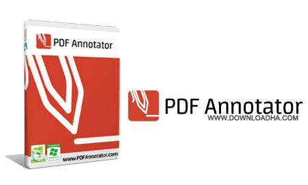 PDF.Annotator.Cover حاشیه نویسی فایل های پی دی اف با PDF Annotator 5.0.0.500