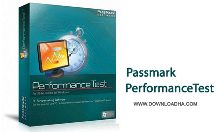 PerformanceTest.Cover تست و بنچمارک سخت افزارها Passmark PerformanceTest 8.0 Build 1035