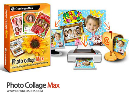 Photo.Collage.Max.Cover زیباسازی تصاویر خود با Photo Collage Max 2.3.0.6