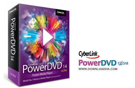 PowerDVD.Ultra.v14.Cover پلیر قدرتمند و همه کاره CyberLink PowerDVD Ultra 14.0.4401 Multilingual