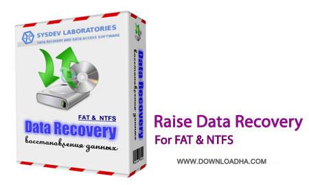 Raise.Data.Recovery.Portable.Cover بازيابي اطلاعات حذف شده با نرم افزار Raise Data Recovery for FAT / NTFS 5.15.1 Portable