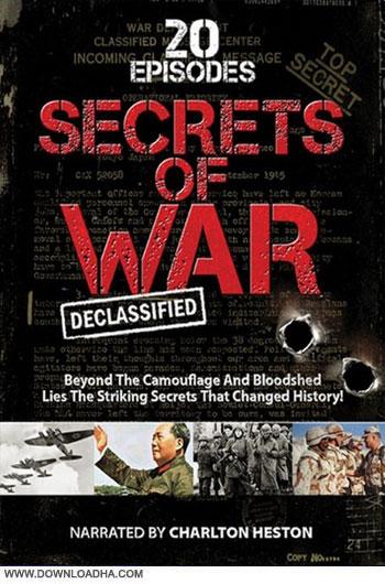 Secrets.of.War.Declassified.Cover دانلود مستند سریالی آشکاری اسرار جنگ   Secrets of War: Declassified 2014