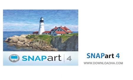Snapart4.Cover پلاگین تبدیل عکس به نقاشی در فتوشاپ با Alien Skin Snap Art 4.0.0.382