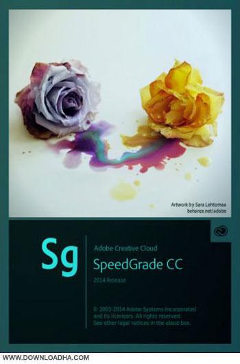 Speed.Grade.CC.2014.Cover ویرایش حرفه ای فایل های ویدیویی Adobe SpeedGrade CC 2014 v8