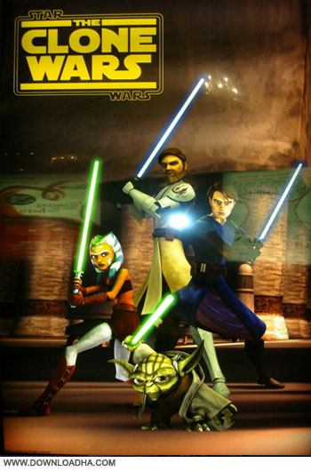 Star,Wars.The.Clone.Wars.Cover دانلود انیمیشن جنگ ستارگان Star Wars The Clone Wars 2008   2013