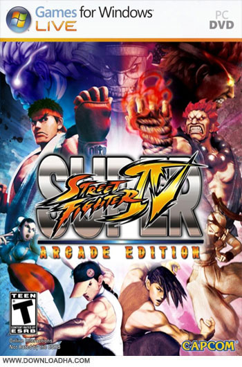 دانلود بازی Super Street Fighter IV Arcade Edition Complete برای PC