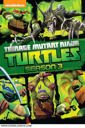 TMNT.S03.Cover دانلود فصل سوم انیمیشن لاک پشت های نینجا – Teenage Mutant Ninja Turtles Season 03 2014