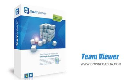 Team.Viewer.Cover مدیریت سیستم از راه دور TeamViewer 9.0.29327 Enterprise