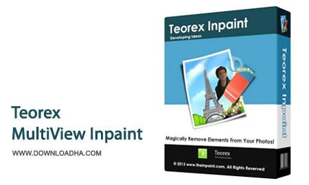 Teorex.Inpain.Cover حذف حرفه ای پس زمینه تصاویر با Teorex MultiView Inpaint 1.2