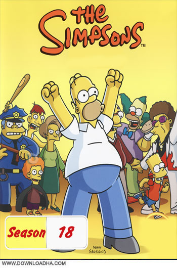 The.Simpsons.S18.Cover دانلود فصل هجدهم انیمیشن سیمپسون ها The Simpsons Season 18