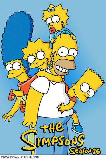 The.Simpsons.S26.Cover دانلود فصل بیست و ششم انیمیشن سیمپسون ها   The Simpsons Season 26 2014