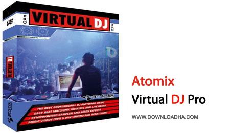 Virtual.Dj.Pro.Cover دی جی مجازی فوق حرفه ای با Atomix Virtual DJ Pro 8.0.1897