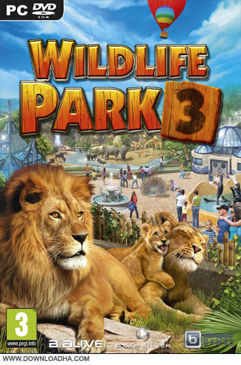 WildLife.Park.3.Cover دانلود بازي Wildlife Park 3 براي PC