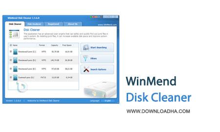 WinMend.Disk.Cleaner.Cover بهینه سازی ویندوز با حذف فایل های زاید با WinMend Disk Cleaner 1.5.7.0