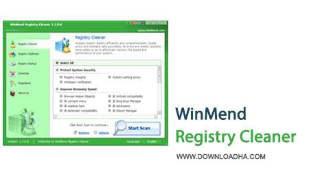 WinMend.Registry.Cleaner.Cover بهینه سازی و پاک سازی رجیستری با WinMend Registry Cleaner 1.7.0.0