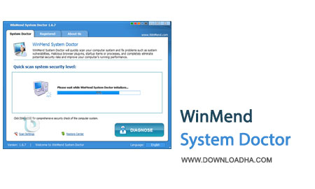 WinMend.System.Doctor.Cover افزایش امنیت سیستم با WinMend System Doctor 1.6.7.0