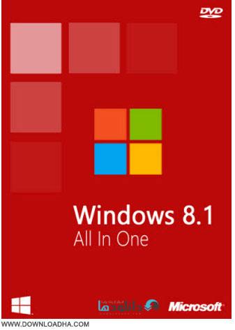 Windows.8.1.AIO.Cover دانلود ویندوز ۸.۱ به همراه جدیدترین آپدیت ها – Windows 8.1 AIO x86/x64 December 2014