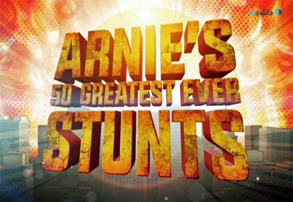 Arnie Schwarzeneggers 50 Greatest Ever Stunts 2016 Cover Small دانلود مستند 2016 Arnie Schwarzeneggers 50 Greatest Ever Stunts
